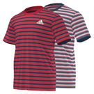 adidas Club Striped Tee