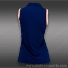 Lotto Shela Sleeveless Polo- China Blue