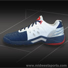 Yonex Power Cushion 308 White/Navy Mens Tennis Shoes