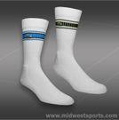 Lacoste Sport Crew Sock-White/navy