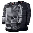 Nike Long Sleeve Printed Crew