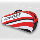 Dunlop Club 3 Pack Red Tennis Bag