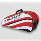 Dunlop Club 6 Pack Red Tennis Bag