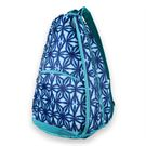 All For Color Tennis Backpack - Indigo Batik