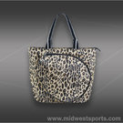 All For Color Classic Leopard Tennis Tote