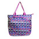 All For Color Sunset Ikat Tennis Tote Bag
