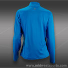 Tail Break Point Long Sleeve Zip Front Top