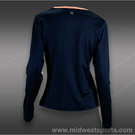 Tail Palmetto Dunes Long Sleeve Top-Navy Blue