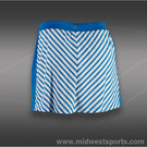 Tail Break Point Stripe A-Line Skirt
