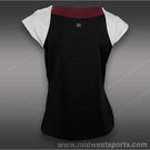 Tail Divine Wine Cap Sleeve Shirt