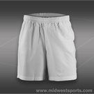 Fila Mens Essenza Hard Court 7-Inch Short-White
