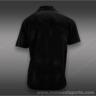 Fila Center Court Embossed Polo- Black