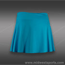 Fila Center Court Long Flirty Skirt-Blue