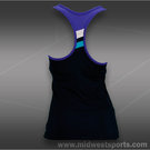 Fila Center Court Racerback Tank-Peacoat