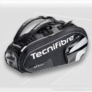Tecnifibre VO2 Max Black 9 Pack Tennis Bag