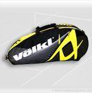 Volkl Team Combi Black/Yellow 6 Pack Tennis Bag