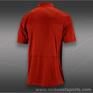 Wilson Solana Embossed Polo-Terra Red