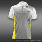 adidas Mens adizero Theme Polo