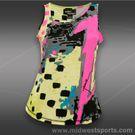 Jamie Sadock Actif Asymmetrical Print Tank-Dazzle/Spark