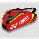 Yonex 2013 Tournament Basic Red Triple Tennis Bag
