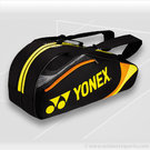 Yonex Tournament Basic Black 6 Pack Tennis Bag