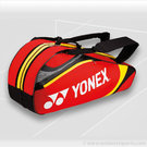 Yonex 2013 Tournament Basic Red 6 Pack Tennis Bag