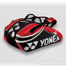 Yonex Pro Series Red 9 Pack Tennis Bag