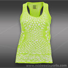 Lucky in Love Neon Tennis Crochet Tank