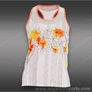 Lucky in Love Petal Power Flower Tank-Orange