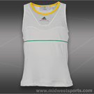 adidas Girls Stella McCartney Tank-White