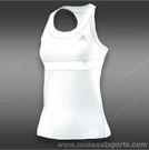 adidas all premium Tank-White