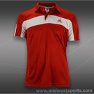 adidas Galaxy Polo-Light Scarlet