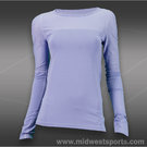Tonic Ripple Long Sleeve Top-Lavender