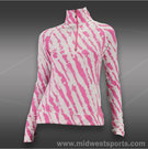 Eleven 1/4 Zip Pullover-Tie Dye Orchid