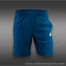 adidas Barricade 9.5 Inch Short-Tribe Blue