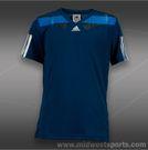 adidas Boys adipower Barricade Semifit Shirt-Tribeblue