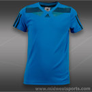 adidas Boys adipower Barricade Shirt-Solarblue
