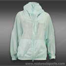 adidas Stella McCartney Barricade Warm-Up Jacket-Fresh Aqua