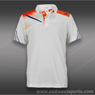 adidas Boys adizero Polo-White