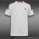 adidas Boys Response V-Neck-White