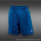 adidas Basic 9 Inch Bermuda-Solar Blue