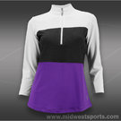 JoFit Montego Golf Three Quarter Sleeve Top