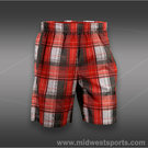 New Balance Court Plaid Short-Red