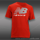 New Balance Tennis T-Shirt-Red
