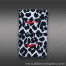 Nike Cheetah Premier Wristbands-White/Black/Hyper Pink