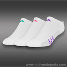 Adidas 3-Pack No Show Socks (Girls)