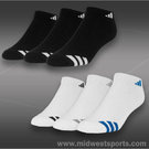 Adidas Striped 3-Pack Low Cut Sock (Kids)