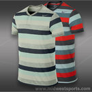 Nike Dri Fit Touch Stripe Henley