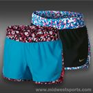 Nike Girls Tempo Rival Graphic Short