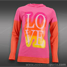 Lucky in Love Girls Rainbow LOVE Hoodie